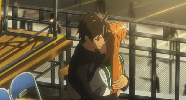 High School of the Dead - Hugs