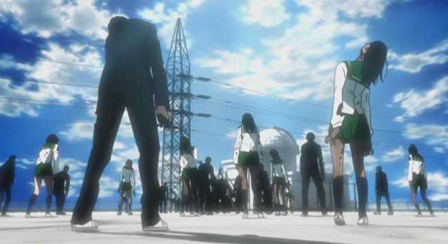 high school of the dead - a nice stroll