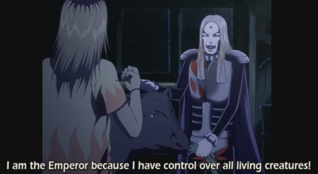 Krauser has control over all living creatures